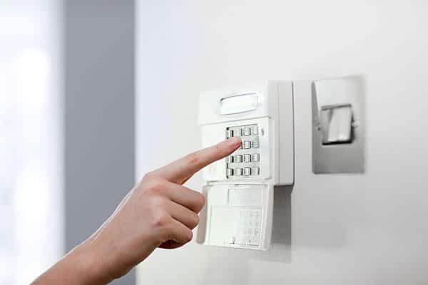 Business protected security alarm system