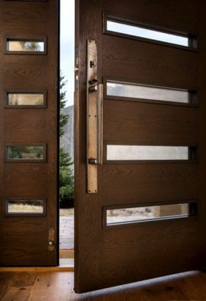 install architectural hardware provide security